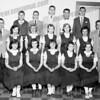 St. Joseph's School - Middle row - 2nd from left: Janet Konitzer - 2nd from right: Carol Konitzer