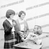 Judy Markulis, Kathy Flesh and Bonnie Howe; about 1964 - AHS.