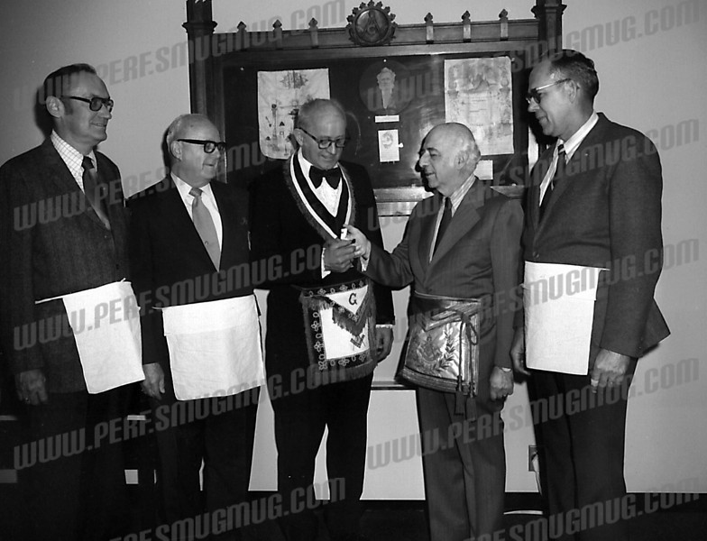 2nd from right is Herb Singer.