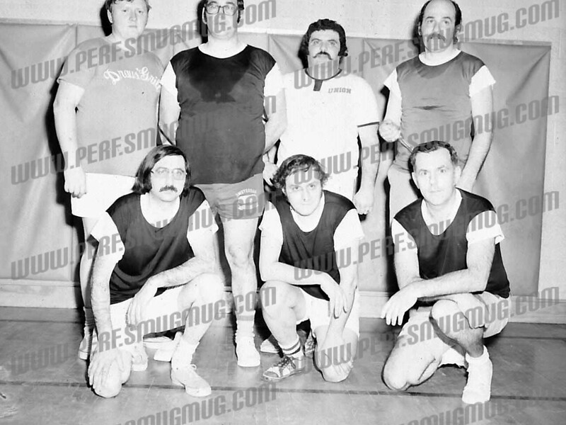 Bottom right: Dick Case, second from right: Richard Wolfe<br /> Top Left: Frank Bochniak