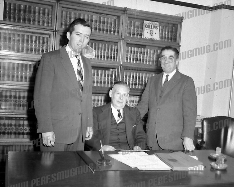 Atty Robert Sise on left, early 50's