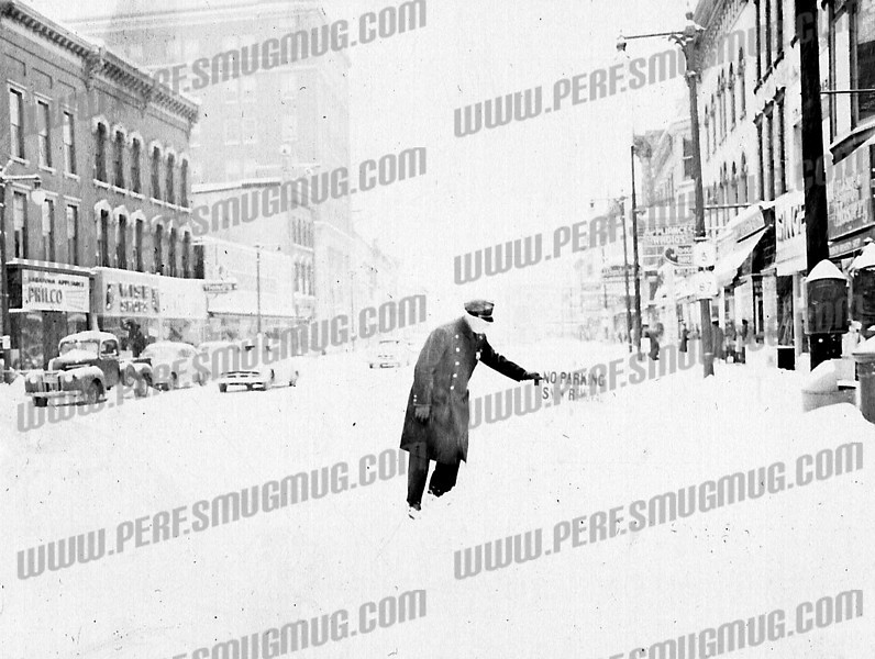East Main Streetnear Church Street looking west. Early 50's