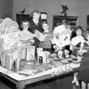 Annual library week photo in childrens dept of Amsterdam Free Library, 1950's