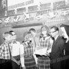 L.A. Szurek Rosenthal wrote about this photo on Oct 20th;<br /> <br /> St Stanislus School students left to right: David Greco, Frank Wyzymirski, Joan Szala (Downey), Mark Fryc, Elizabeth Podolec, Mayor Marcus Brier and possibly Sr. Alfreda? This picture dates to around 1965-1967.