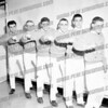 SMI Cheerleaders c. 1963. The no girl cheerleaders experiment didn't last long.
