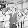 Frank Martuscello (center) probably when elected second time as Mayor, November,1959