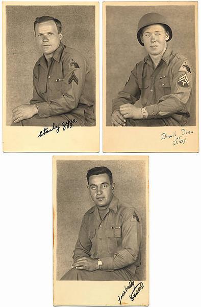 Stanley Zyza, Donald Dean, and Stephen Spirounias