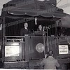Fall, 1952, President Harry S. Truman campaigning for Democratic presidential ticket.