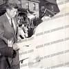 President John F. Kennedy visiting Amsterdam