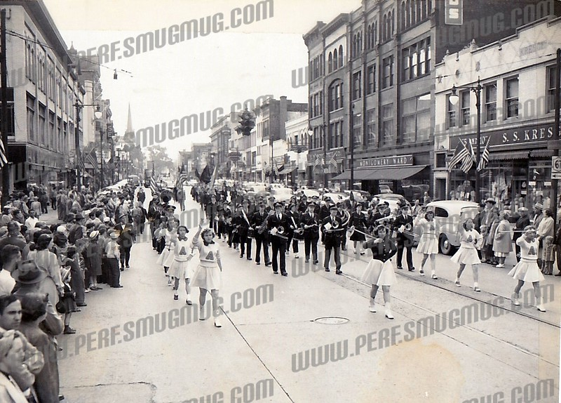 1950's AHS Marching Band