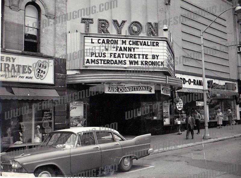 E Main St, Tryon Theatre 1961