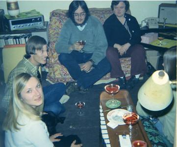 Pat Hagius , Fred Hagius, John Wark, Jennifer Wark