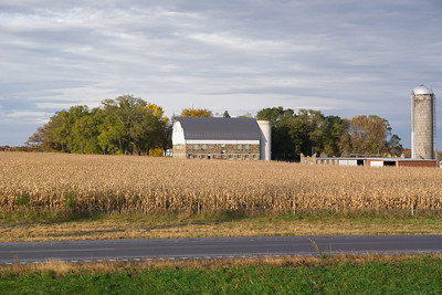 Minnesota Barn And Silo