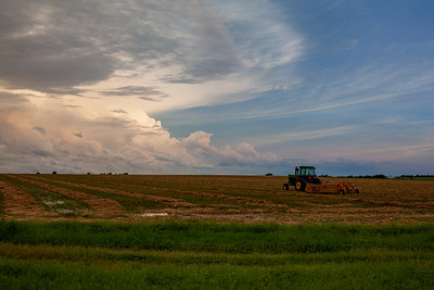 Wet Hay Season In Oklahoma
