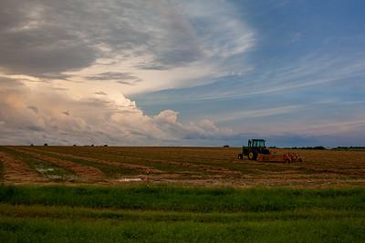 Wet Hay Season In Oklahoma