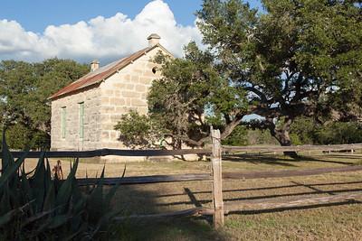 Old German School House Near Waring, TX