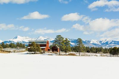 Southwestern Colorado Barn