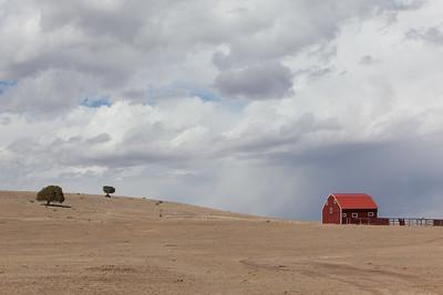 A New Mexico Barn Scene