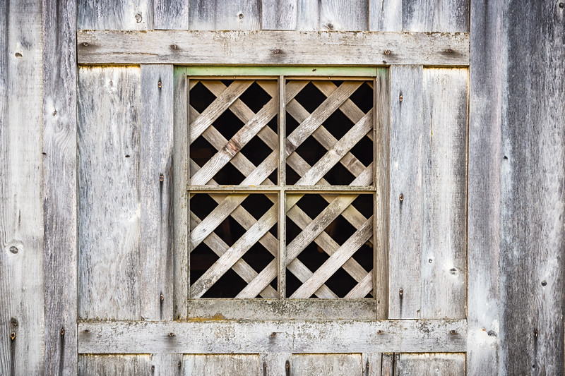 'Through the barn window series.'