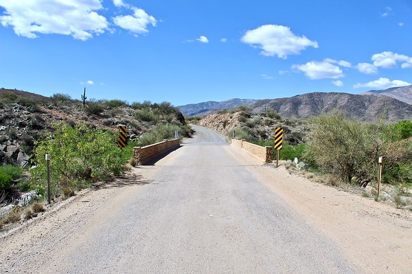 Bumble Bee Creek bridge on Old Black Canyon Highway (2018)