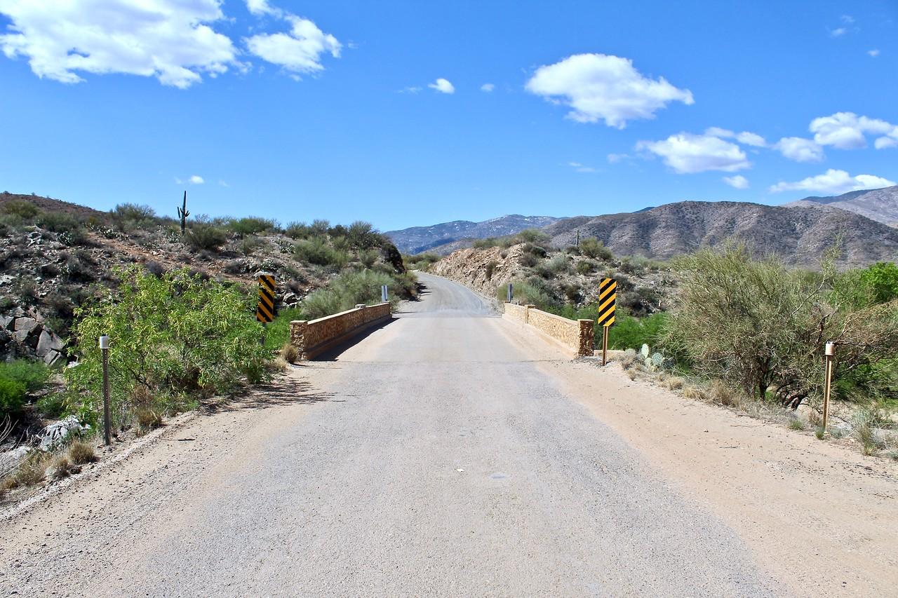 Bumble Bee Creek bridge on Old Black Canyon Highway - 2018