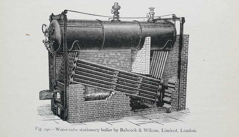 Babcock & Wilcox WIF boiler