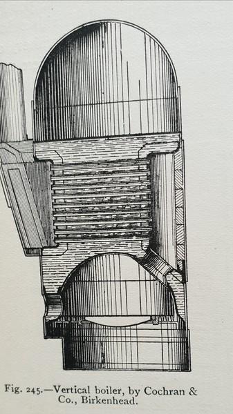 Vertical boiler by Cochran of Birkenhead