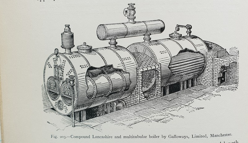 Combined Lancashie and multitubular boiler