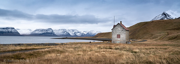 Lonely House On The Fjord