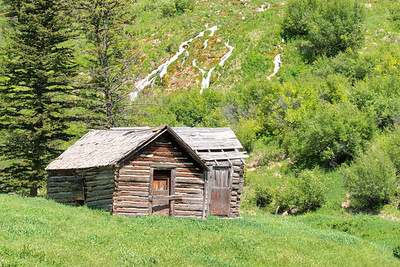 Old Cabin with Hillside Springs