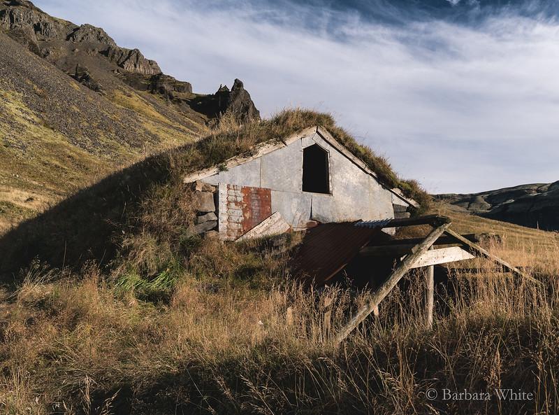 Ruins Of A Barn