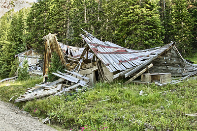 Collapsed Cabin