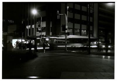 Turbot Street  Shot with a Fujica 35EE rangefinder and Efke KB25 (25ASA) true B&W film.