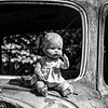 Doll on Truck at Old Car City