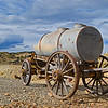 Old water wagon from Colorado's gold mining days