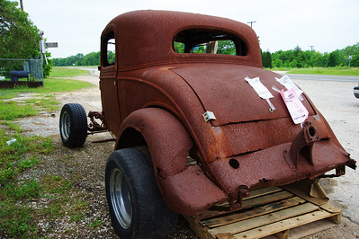 Old 34 Ford hot rod body for sale