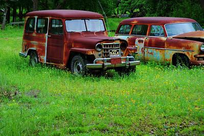 Old jeep, original SUV