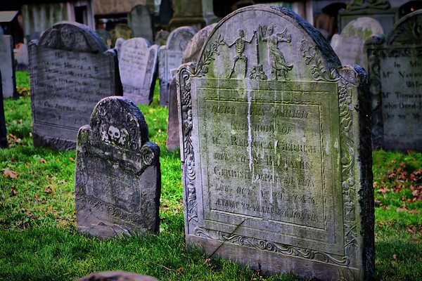 Boston's King Chapel Burial Grounds