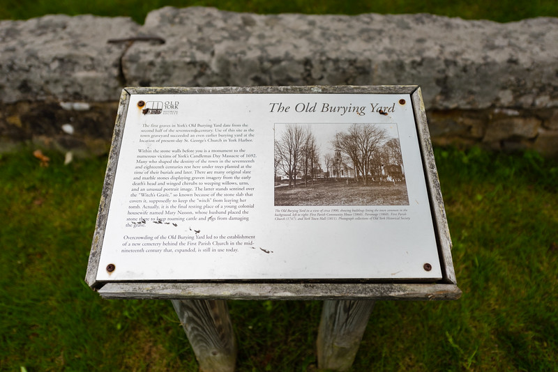 The Grave of Mary Nasson (The York Witch)