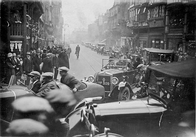 The Cross  1920s; Motor Rally