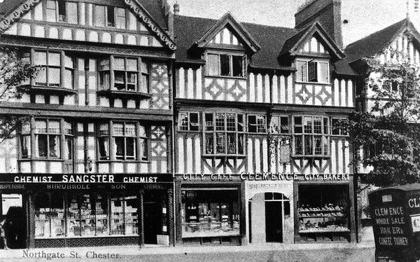 Lower Northgate St 1910