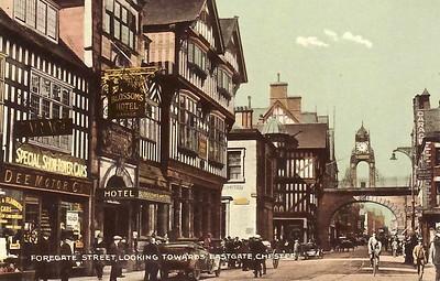 Foregate Street c 1920s