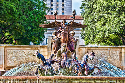 Littlefield Fountain at University of Texas at Austin Austin, Texas