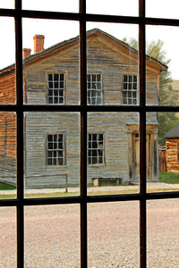 """Bannack Through the Window"""