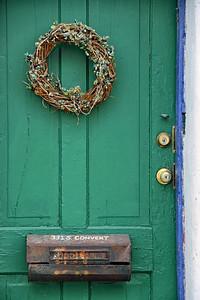 """The Green Door at 331 S. Convent"""