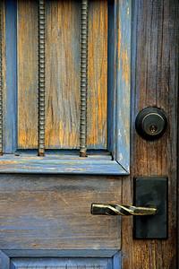 """""""Weathered Blue Door"""""""