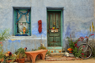 """Blue Wall, Green Door"""