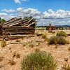 Old Ranch Buildings off Route 66 Just south of Seligman, az in the Hyde Park area.