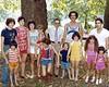 Clark Eugene Montgomery family , 1980 family reunion at Grafton, WV City Park.<br /> Davy, Nicole, Sandy, Valerie, Shames, Michelle, Gene, Clark, P J, Terri, and Gary