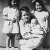 Siblings Kathleen - Larry - Sandra - baby Nancy 1947